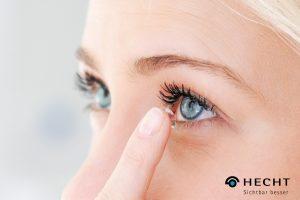 Kontaktlinsen von Hecht