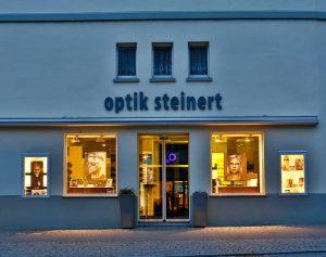 Ladengeschäft Optik Steinert